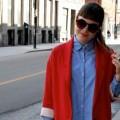 Look – Le rouge et le jeans
