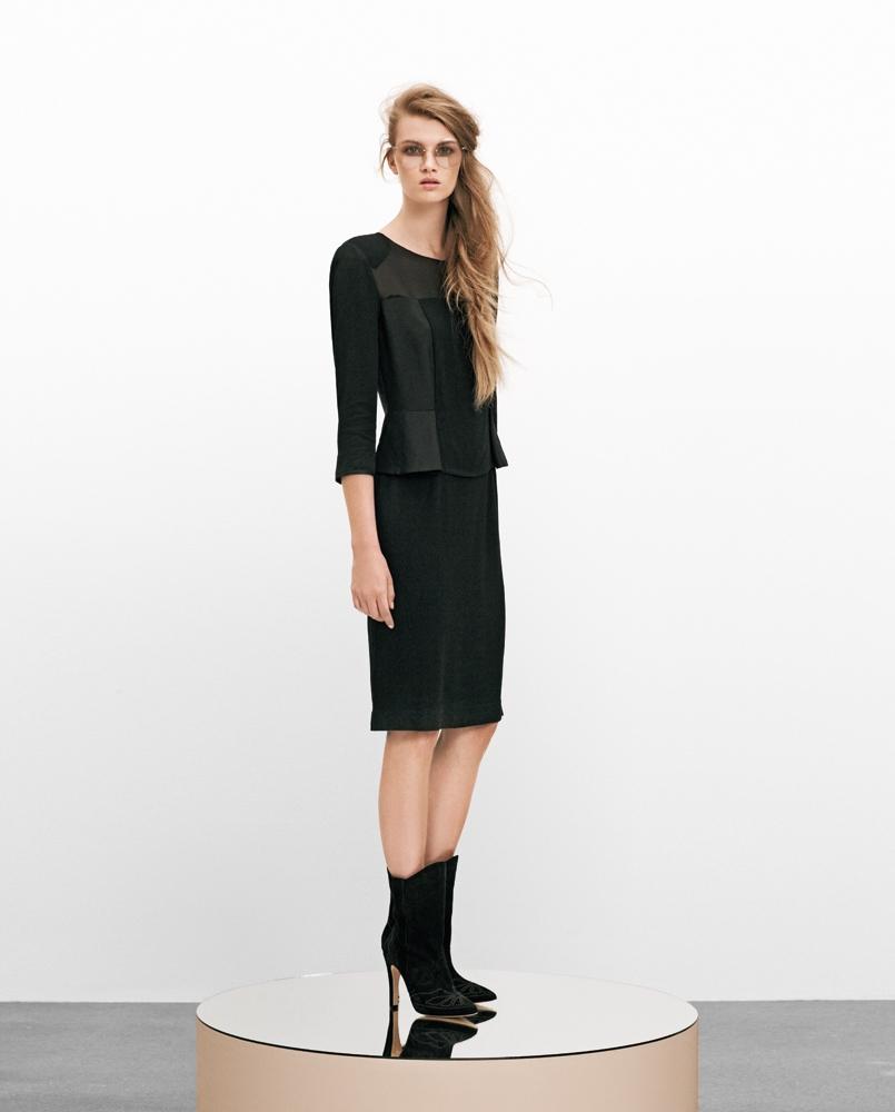 InWear robe noir_Printemps 2013