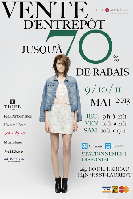L'Invitation_Vente d'entrepôt_Mai 2013
