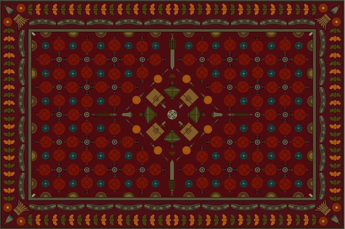 Rug, 2000