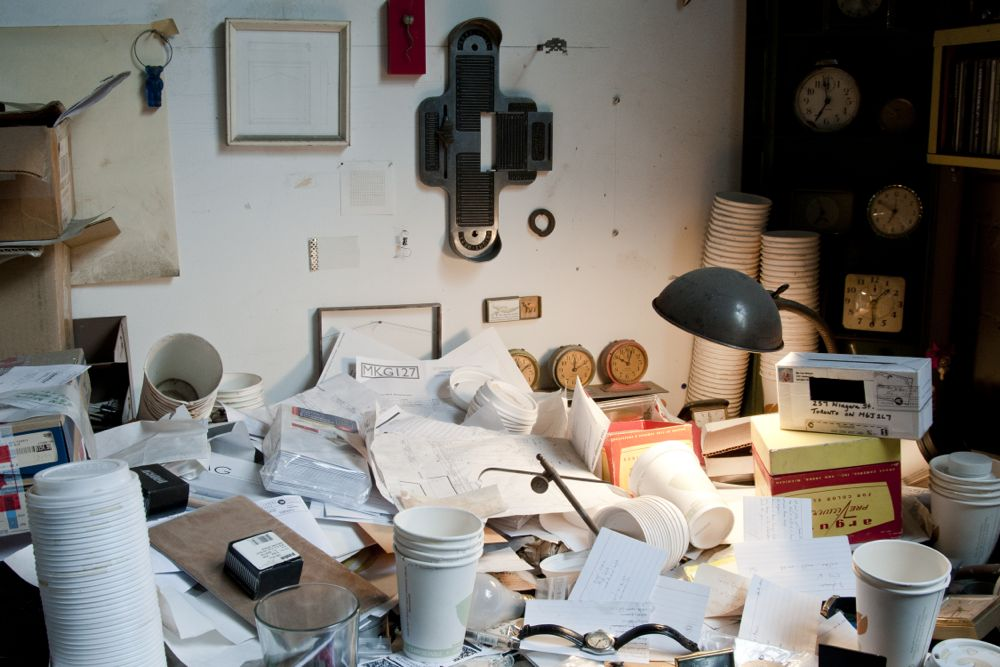 atelier de l'artiste via www.studio-beat.com