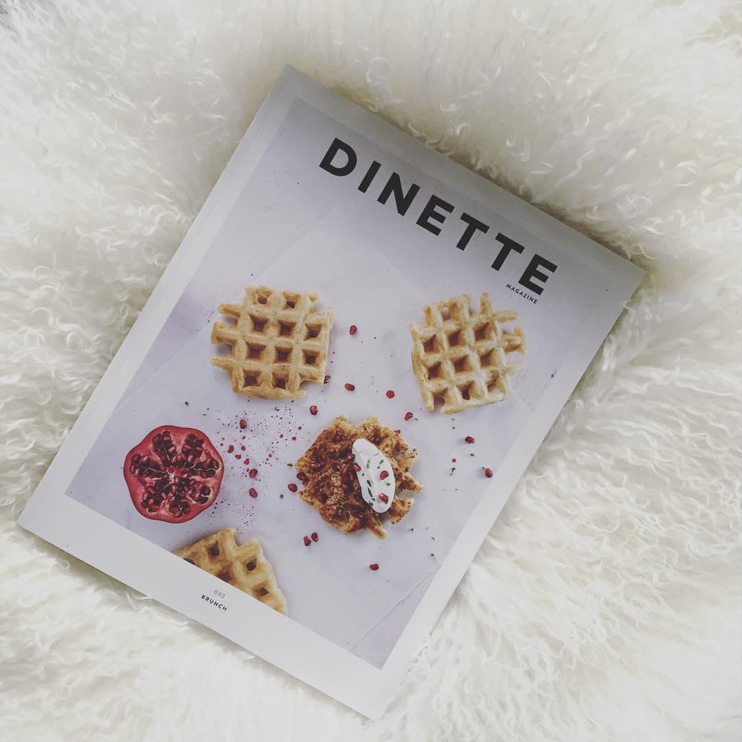 Brunch crush pour la nouvelle édition de @dinettemagazine! Et on a un abonnement au magazine à vous offrir ! Pour participer, écrivez dans les commentaires quelle a été votre plus récente découverte foodie québécoise (resto, alcool, chef...). On fera le #tirage vendredi! #concours #dinette