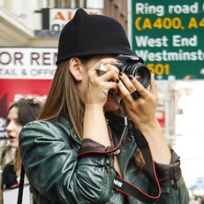 Street Styles @ London Fashion Week - Topshop