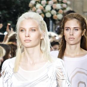 Querelles @ Paris Fashion Week - L'univers cabaret de Fatima Lopes + Minimale féminité chez Avelon