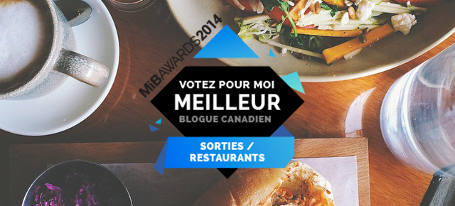 MiB Awards 2014 - Querelles en nomination dans les catégories mode + resto!