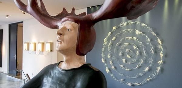 Arts visuels - Visite VIP chez Alexandre Taillefer avec le Cercle des Printemps du MAC