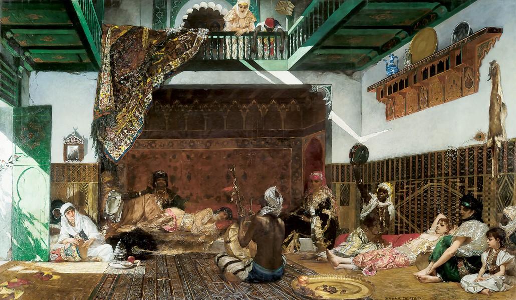 Interieur du harem au Maroc-1030x599