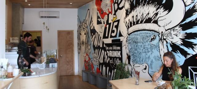 Café - Buck15 Espresso Bar - Vague d'espresso et de toasts californiennes à Sant-Henri