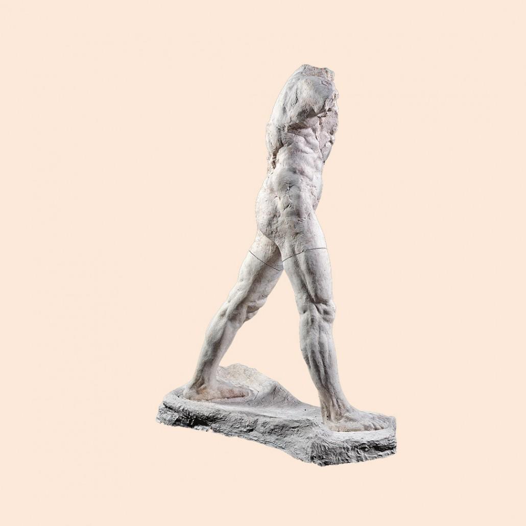 L'Homme qui marche, grand modèle, 1907