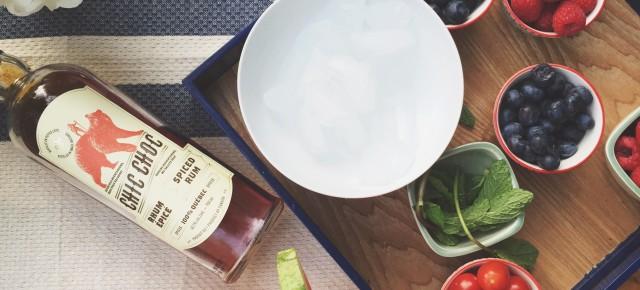 Cocktail : Mojito au melon d'eau et rhum Chic Choc épicé
