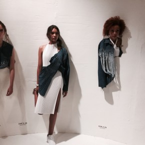 London Fashion Week - Faustine Steinmetz SS16: confort architectural
