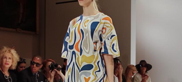 London Fashion Week - Niro Wang : le lin comme canevas