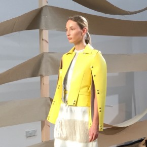 London Fashion Week - Palmer//Harding : moderne féminité