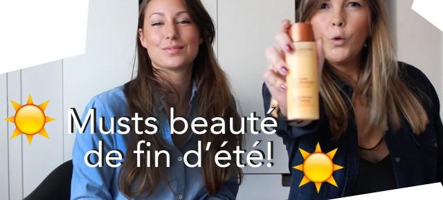 Vlog Beauté - 5 favoris de fin d'été pour faire durer son bronzage!