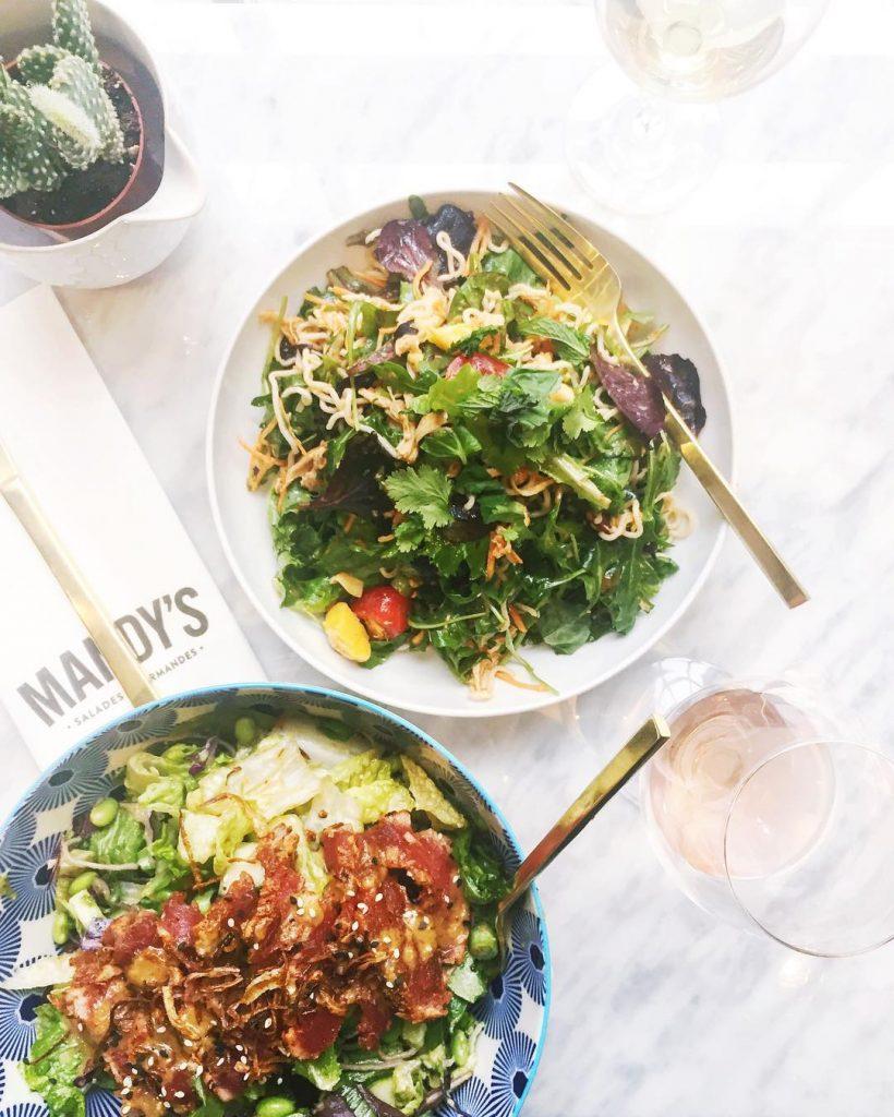 A salad daydream lunchin boozay mandysdoesitbest