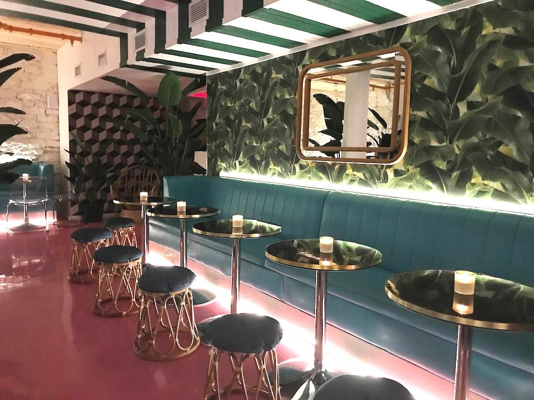 Bar Boho - Nouveau speakeasy tropical dans le Vieux-Montréal